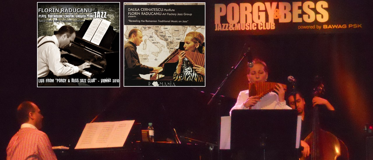 Florin Raducanu at the Porgy and Bess Jazz Club, Vienna, Austria