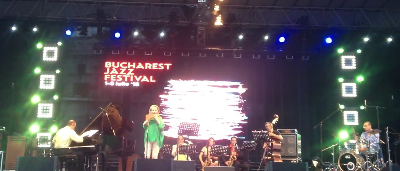 Florin Raducanu in the Bucharest Jazz Festival 2015