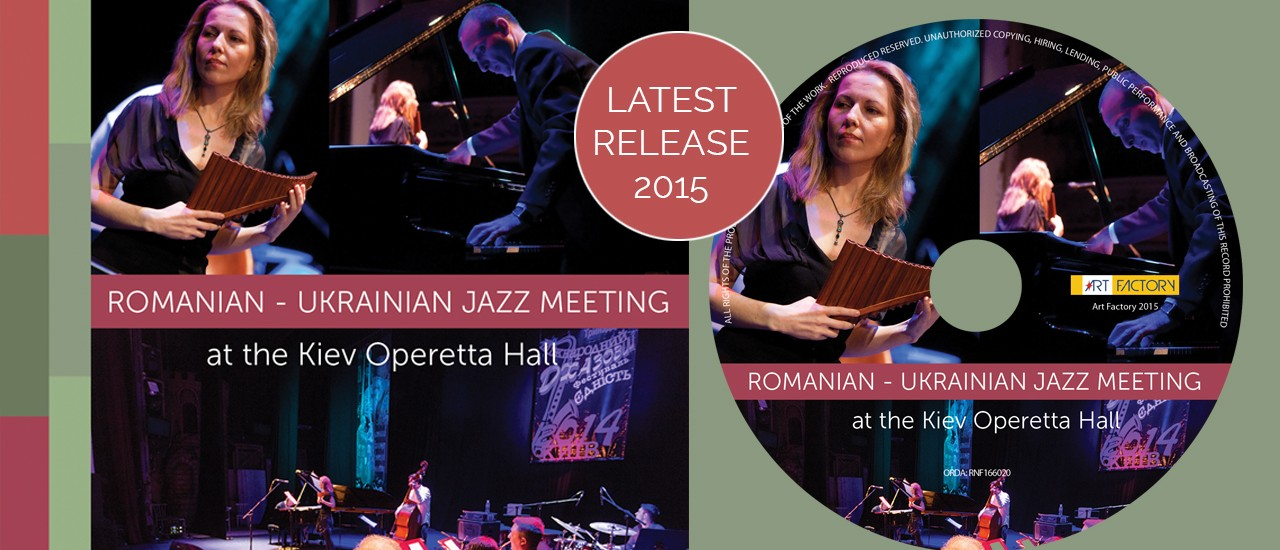 Romanian-Ukrainian Jazz Meeting at the Kiev Operetta Hall