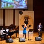 Florin Raducanu, Dalila Cernatescu și Mihai Sebastian la Izmir European Jazz Festival 2016