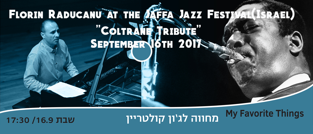 Florin Raducanu at the Jaffa Jazz Festival