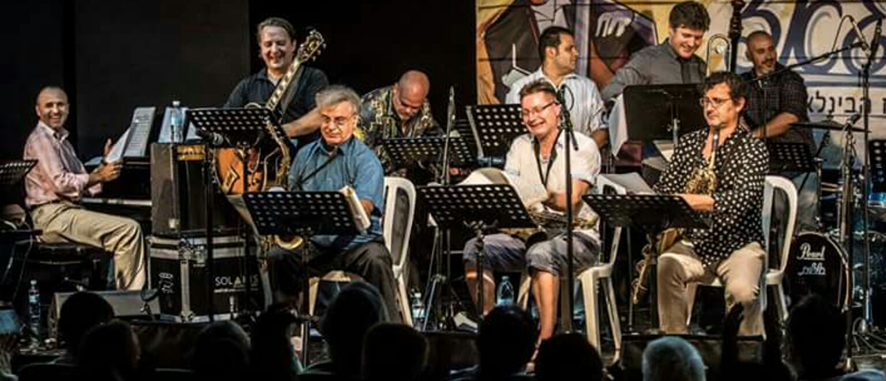 Florin Raducanu at the Jaffa Jazz festival, Israel, 2017