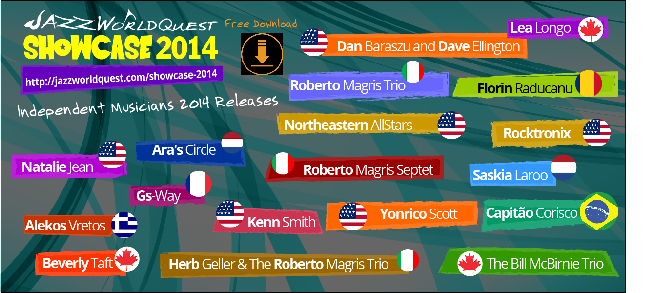 Free for download compilation of songs released in 2014 by independent musicians from Italy, Greece, USA, Romania, France, Canada, Netherlands and Brazil.