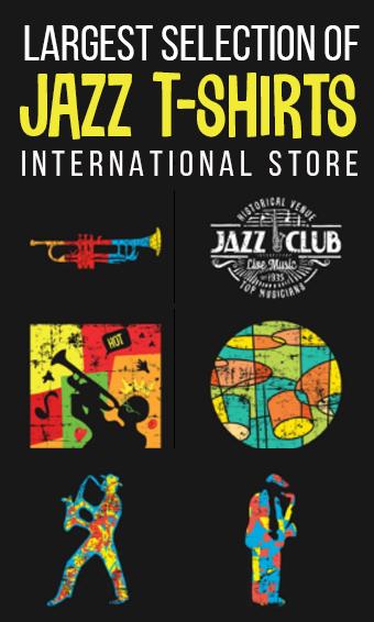 JazzWorldQuest Jazz T-shirts