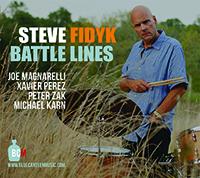 Steve Fidyk - Battle Lines Cover